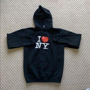 I❤️NY black sweatshirt